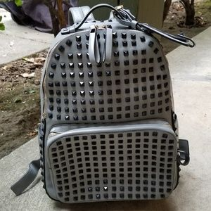 Auth Kolet Italy Studded Backpack Medium